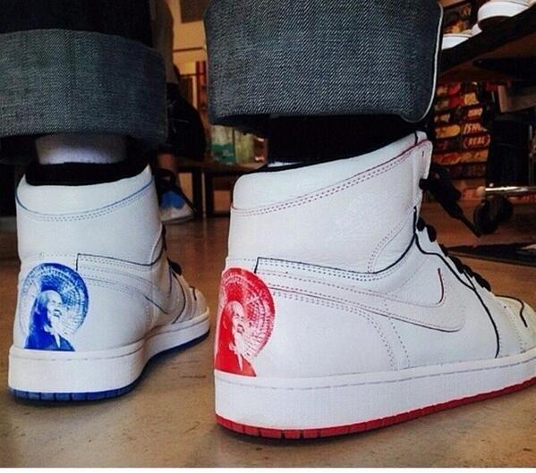 the latest b415d 69cab Nike SB x Jordan 1 Lance Mountain Customs + Retro 1 Comparison Video