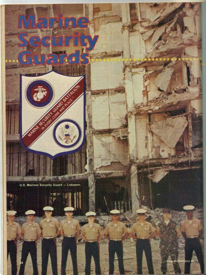 Crazy times as a USMC Embassy guard Marine Corps Gift Ideas USMC