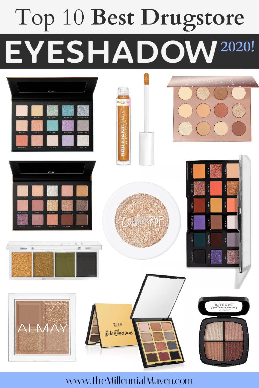*UPDATED 2020* Top 10 Best Drugstore Eyeshadows (Singles