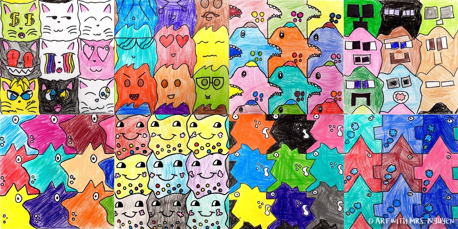 Tessellation Monsters 2 0 5th