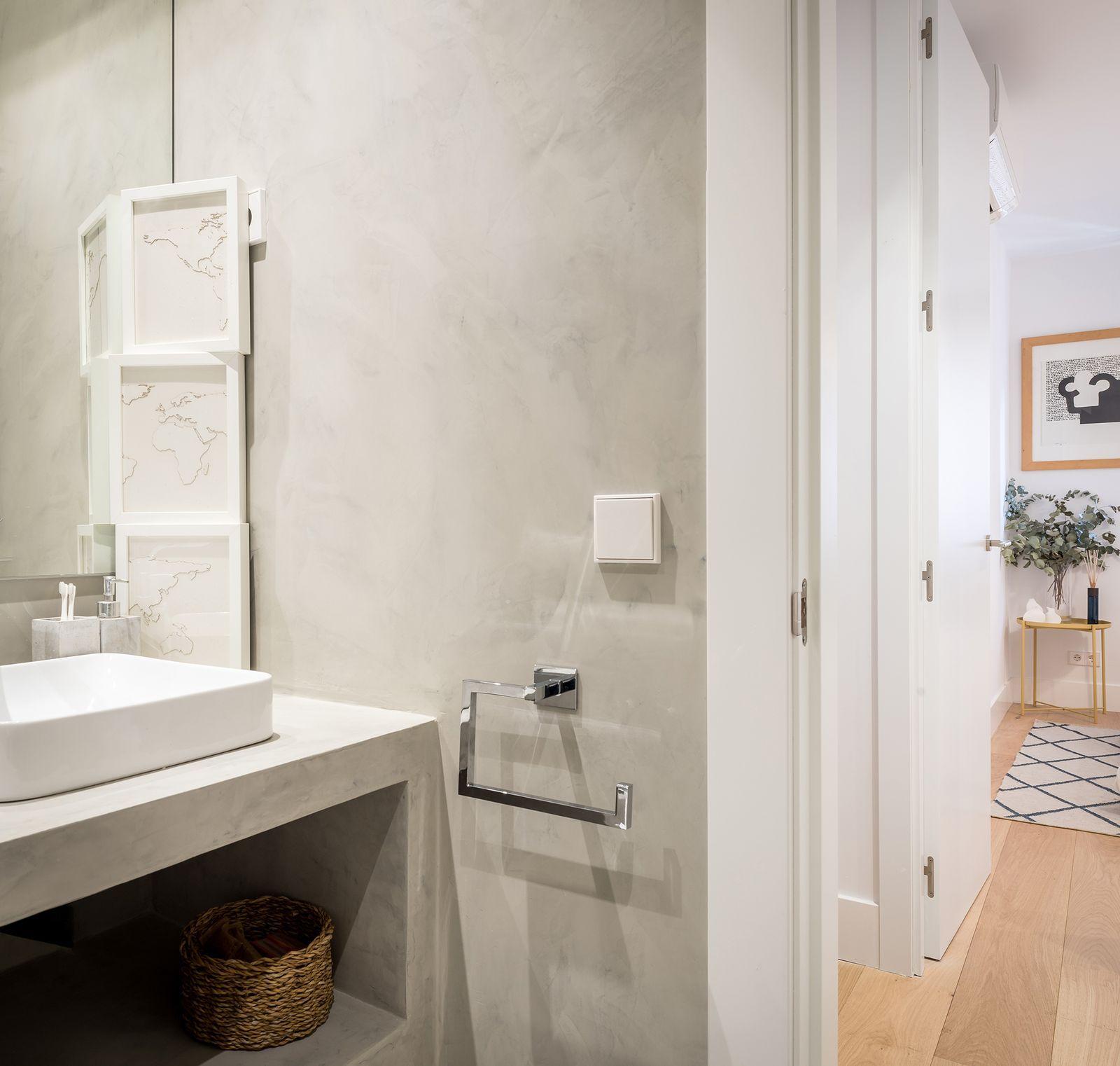 10 Banos En Color Gris Y Blanco Modernos Bano De Cemento