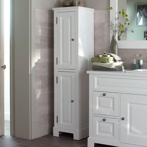 colonne de salle de bains cottage