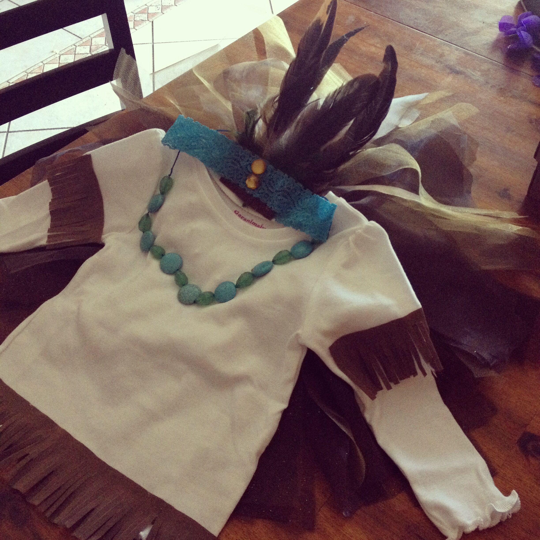 Baby Girl Tutu Indian Costume  Kylee-7289