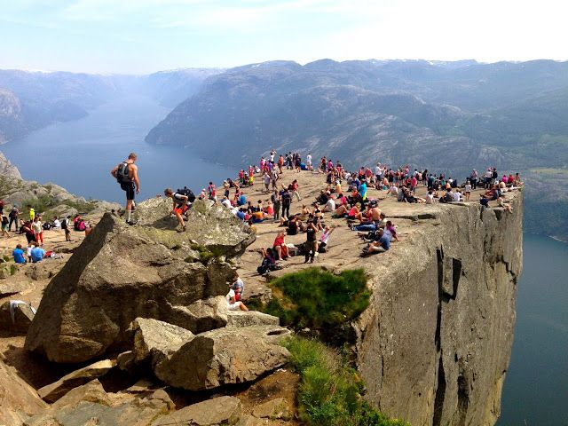 Mstraveltipsy : Preikestolen / Pulpit Rock