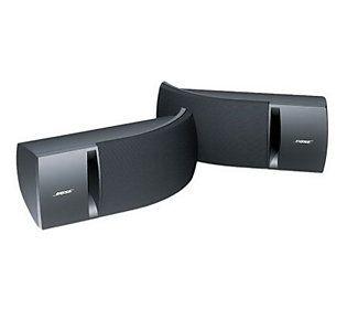 Bose 161 Speaker System W Mounting Brackets Qvc Com Speaker Wall Mounts Speaker System Speaker Design