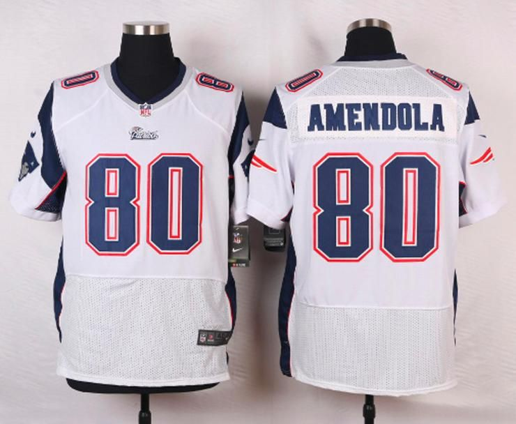 d7da9f236 Men 80 Danny Amendola Jersey Football New England Patriots Jersey ...