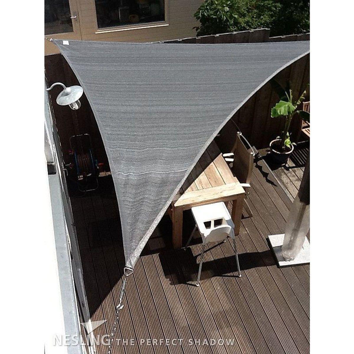Voile D Ombrage 6 X 4 voile d'ombrage imperméable triangulaire dreamsail gris 5 x