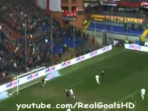 La Rimonta Piu' Bella Nella Storia Del Calcio ... Genoa 4 Roma 3   HD  