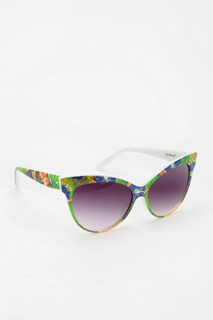 Tropic Mambo Cat-Eye Sunglasses #urbanoutfitters