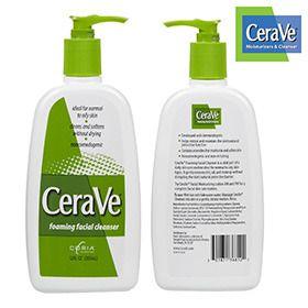 CeraVe Foaming Facial Cleanser a dermatologist favorite