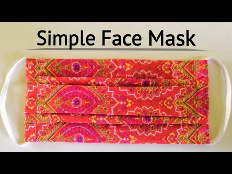 Photo of Face mask sewing tutorial (Stylish)/ How to sew a Face mask at home / Cloth face mask /DIY Face mask