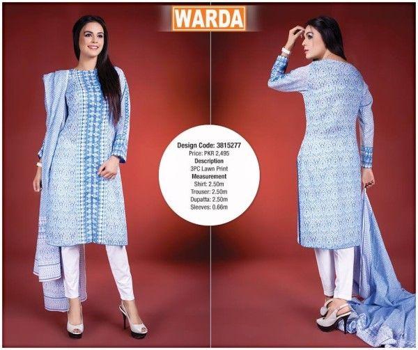 0f6ff7f7d Warda Designer Summer Eid Wear Dresses 2015 for Women6
