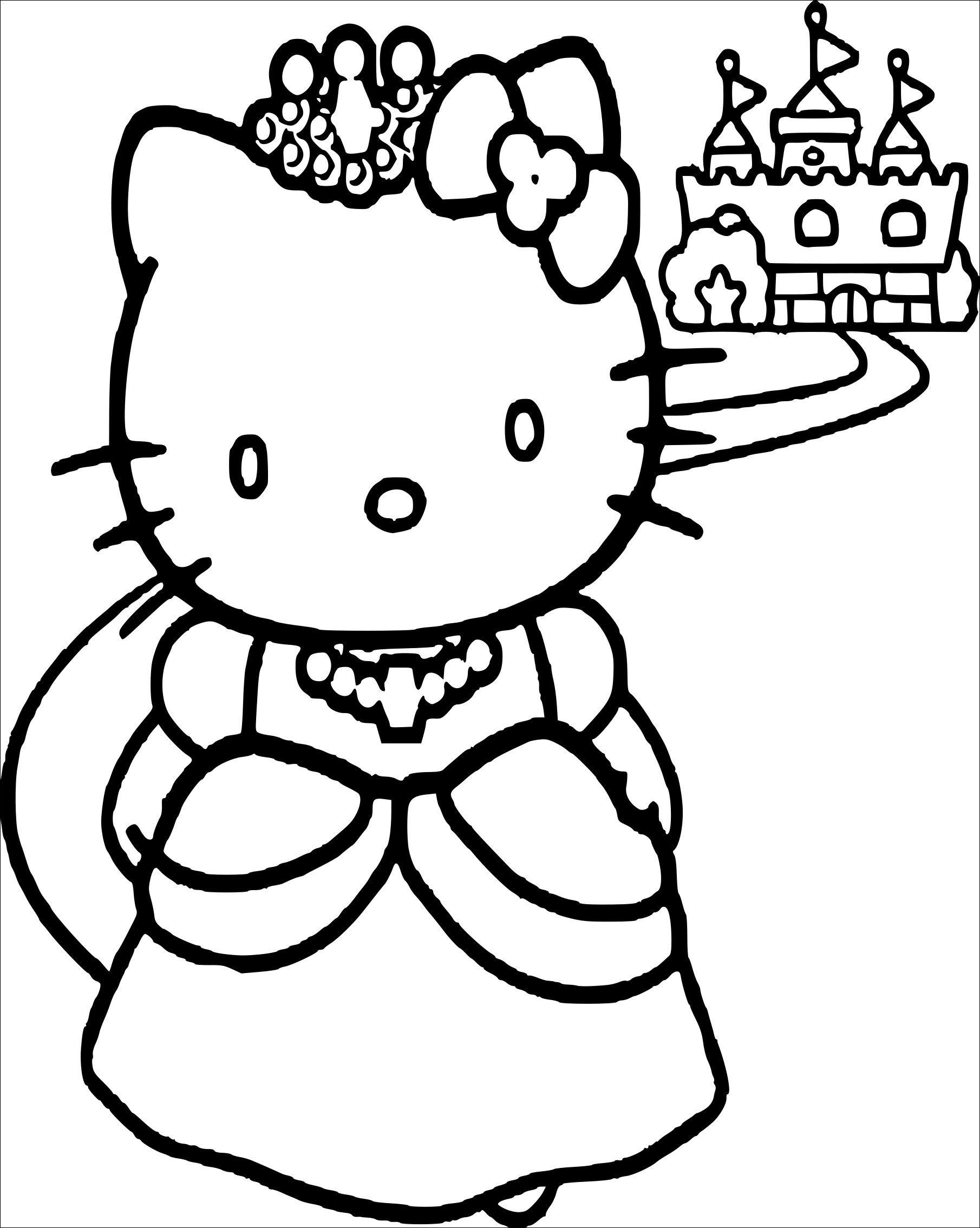 17 Magnifique Dessin A Imprimer Hello Kitty Images