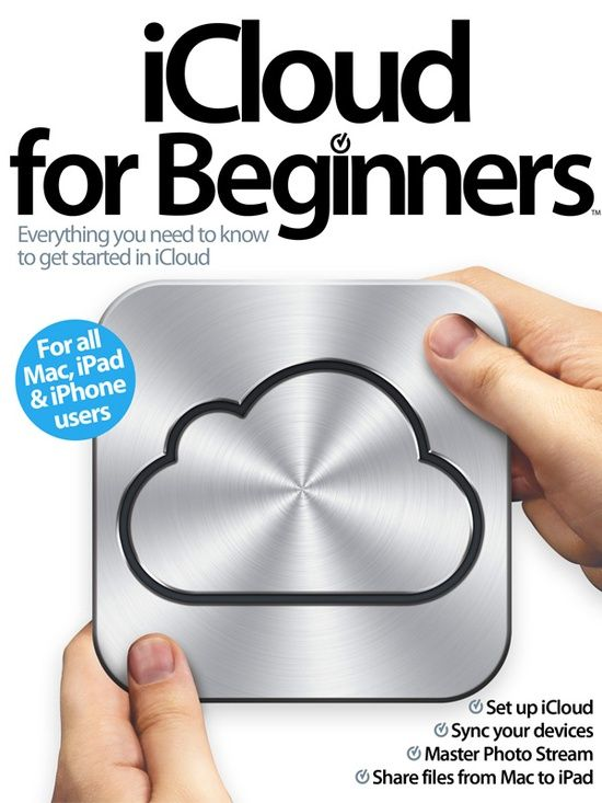 pin now, consider later...iCloud for Beginners...because I