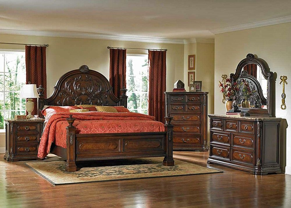 Spanish Style Bedrooms Interior Design Ideas King Bedroom Sets