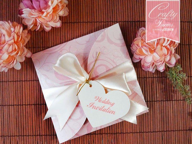 classy modern handmade wedding invitation cards Malaysia, Kuala ...