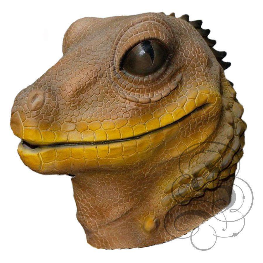 Latex Animal Full Head Aquatic Frog Fancy Dress Carnival Stag Hen Party Masks
