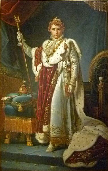 Napoleon Bonaparte (Ajaccio, 15 augustus 1769 - Sint-Helena, 5 mei 1821) was een Frans militair en politieke leider tijdens de laatste stadia van de Franse Revolutie. Als Napoleon I was hij van 1804 tot 1815 keizer der Fransen. Zijn juridische hervorming, de Code Napoléon, had een grote en blijvende invloed op het recht in vele landen, waaronder Nederland en België. Het best wordt hij echter herinnerd door de rol die hij in de naar hem genoemde Napoleontische oorlogen speelde.