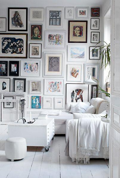 Bilderwand Living Spaces Interieur Muur Wanden