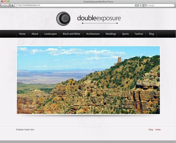 5 temas gratuitos para crear blogs de fotógrafos o galerías de fotos ...