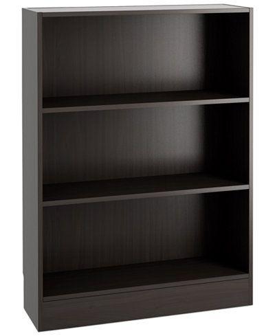 Berkley ReadytoAssemble Short Wide Bookcase Quick Ship – Ready to Assemble Bookcase