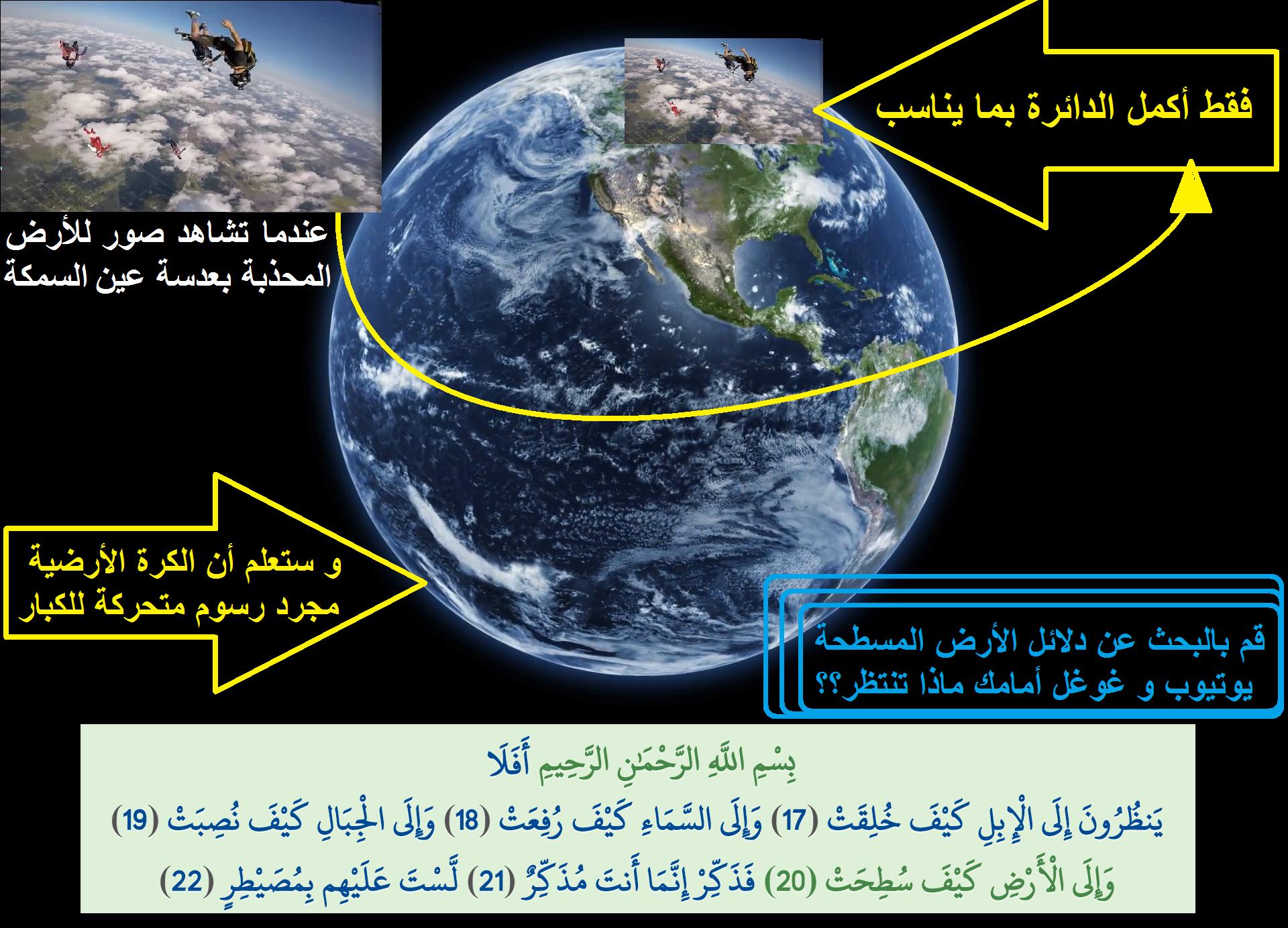 الأرض مسطحة الأرض المسطحة دلائل الأرض المسطحة Flat Earth Earth Is Flat