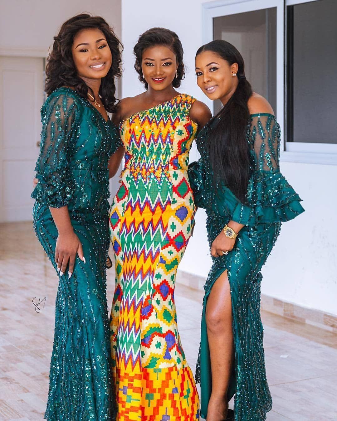 Fab Wedding Guest Nerogbemre African Print Fashion Dresses Kente Dress Africa Dress