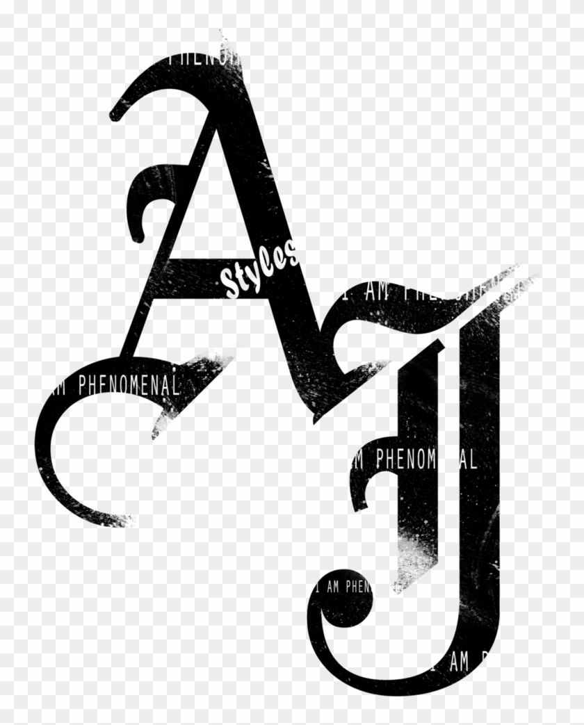 Enjoy Hd High Quality Aj Styles Logo Png Wwe Aj Styles Logo Transparent Png And Download More Related P Tattoo Lettering Styles Aj Styles Lettering Styles
