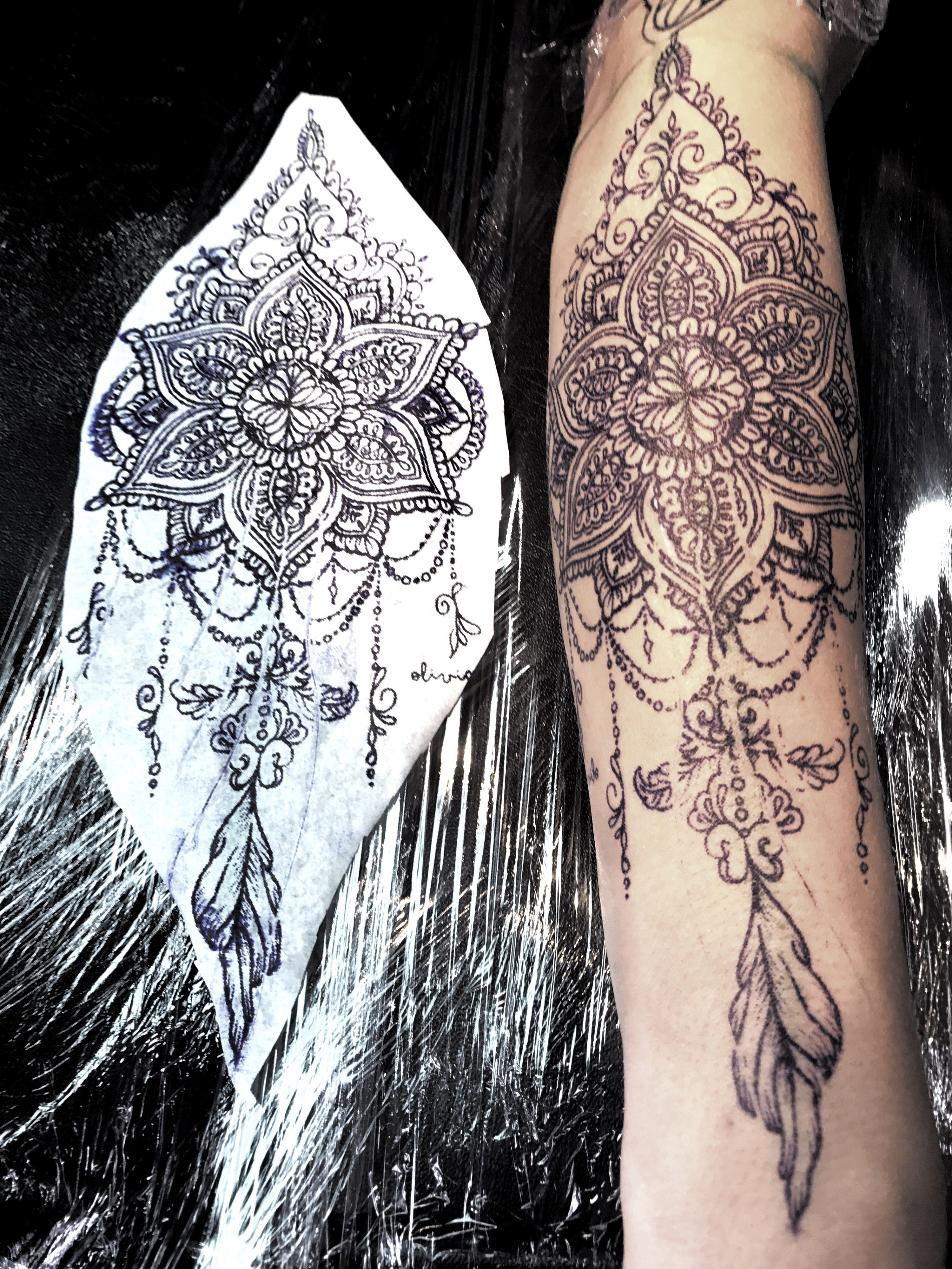 Mandala Design For Girl Tattoo Mandala Tattoos For Women Tattoos Leg Tattoos