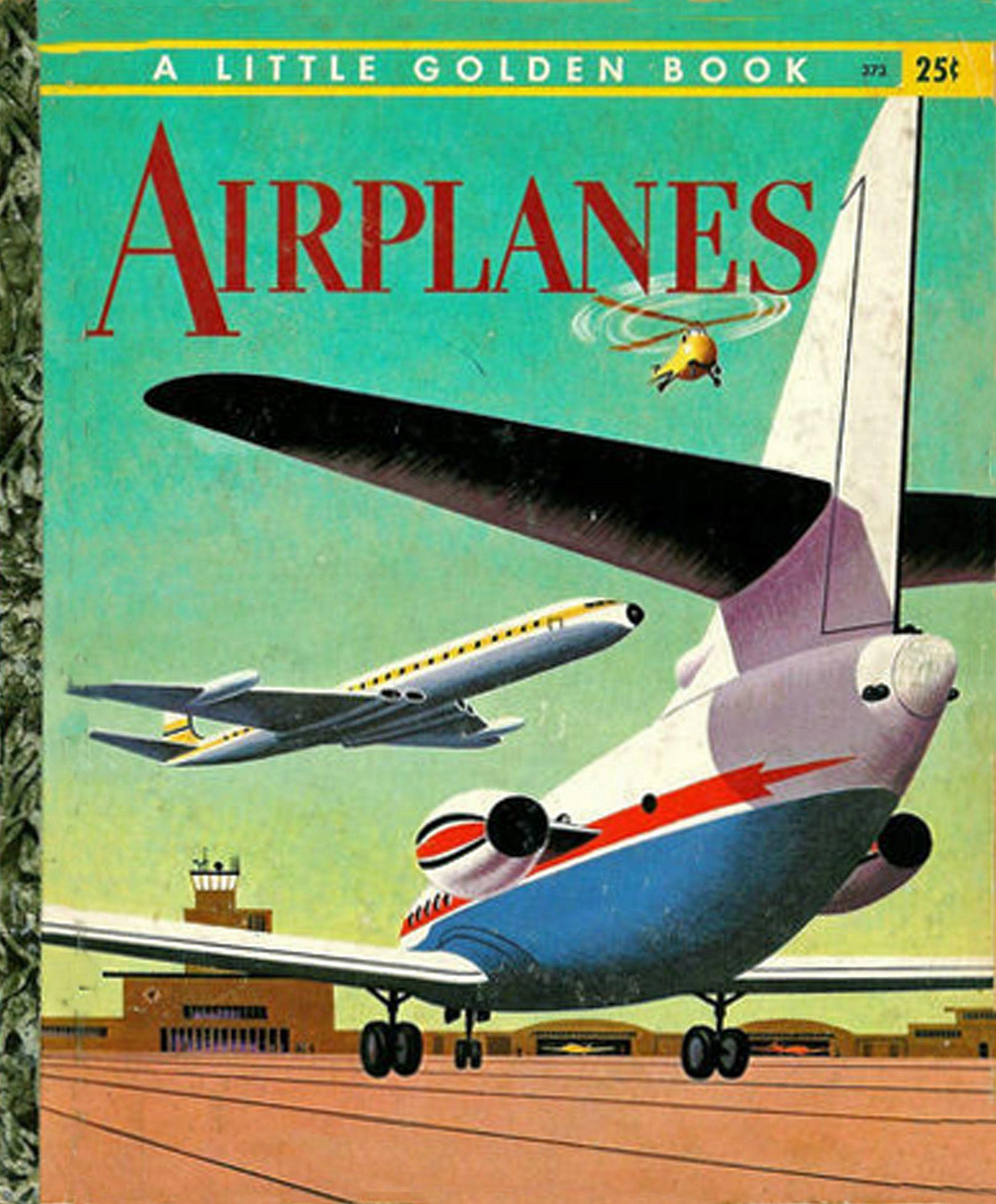 Airplanes - Little Golden Book