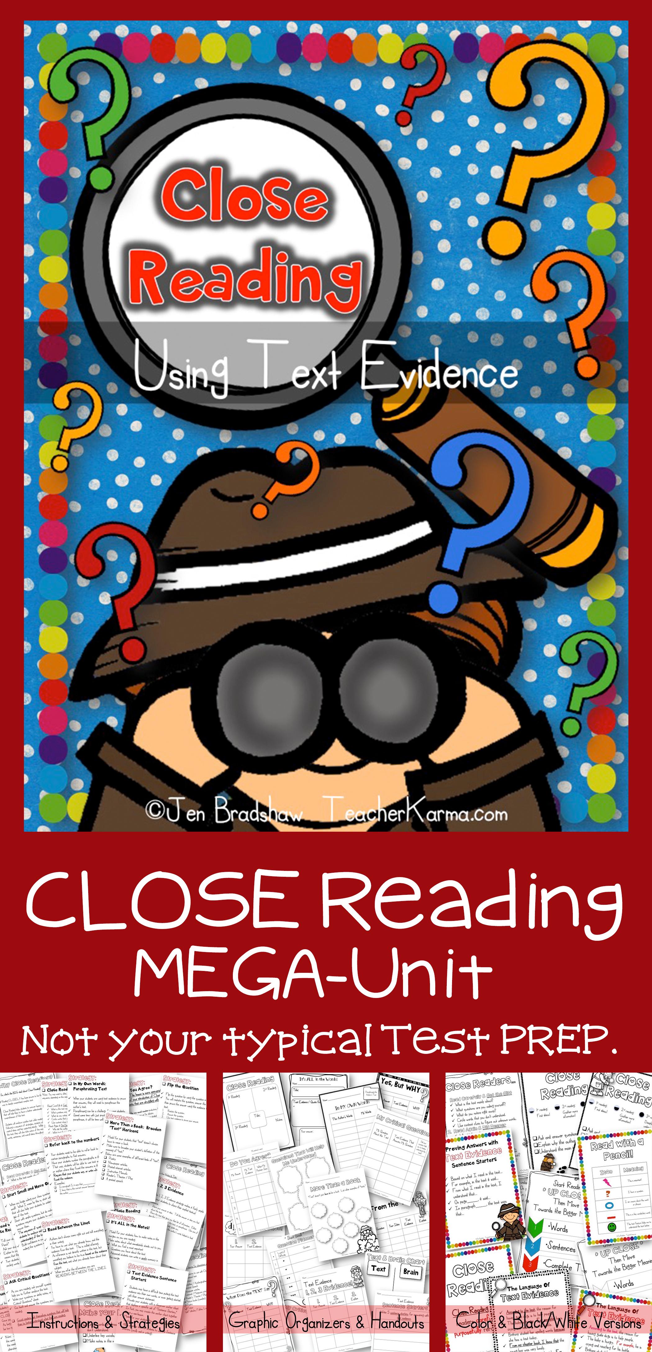 Close Reading Kit
