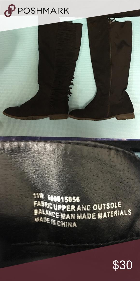 6ca4d8097b5 Lane Bryant Fringe Boots . Lane Bryant Shoes Over the Knee Boots. Lane  Bryant Fringe Boots(Wide Calf Stretch) ...