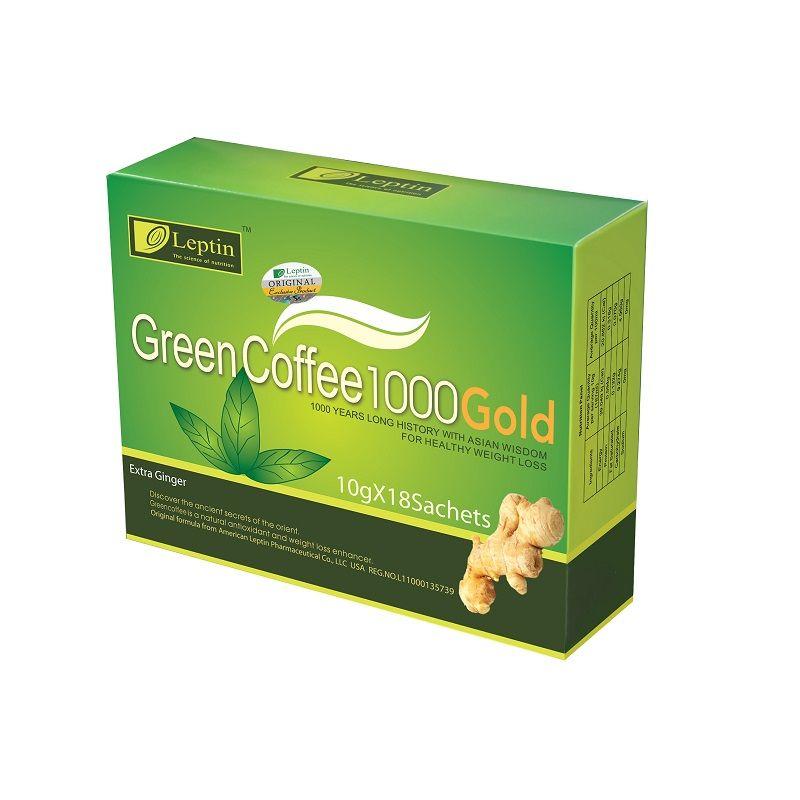 Green coffee powder brands