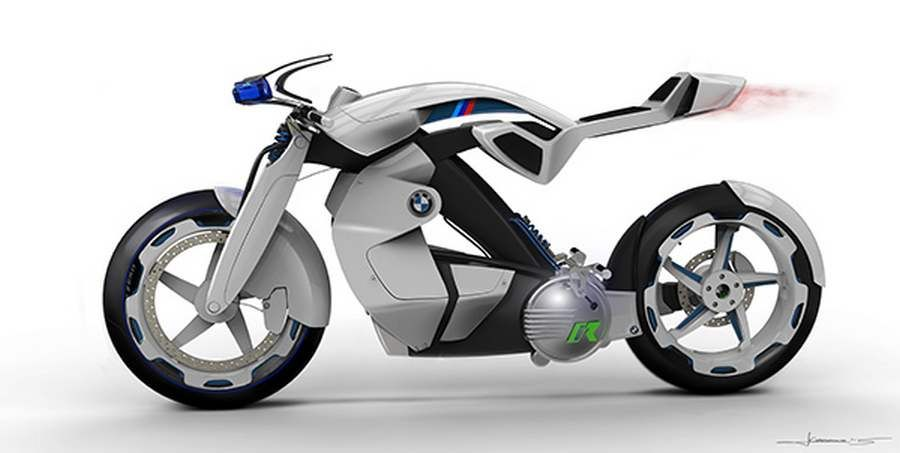 Electric Bmw Ir Motorcycle 4