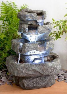 Fontaine d\'Intérieur Shubunkin à LED - Zen et Relaxation: Amazon.fr ...
