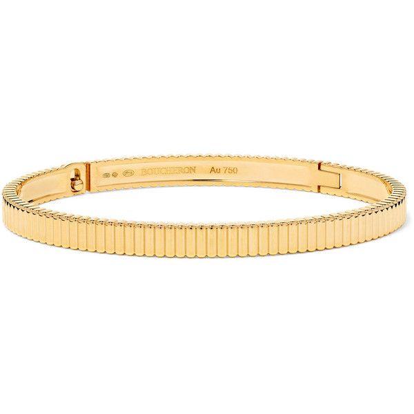 Boucheron Quatre Grosgrain Bracelet in 18K Rose Gold scapc