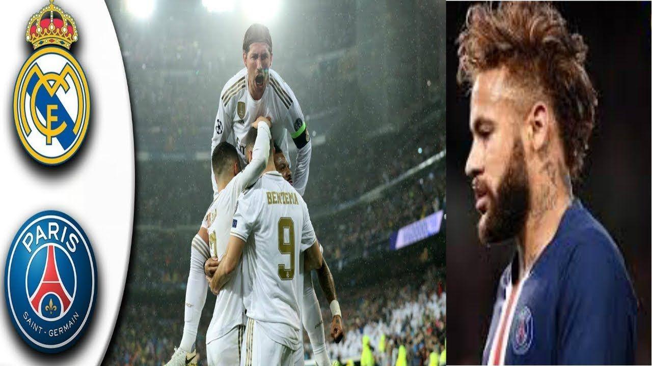 Real Madrid vs PSG 22 Resumen Highlights Champions