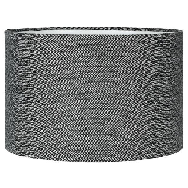 Buy collection larkhall textured shade black and grey at argos buy collection larkhall textured shade black and grey at argos aloadofball Images