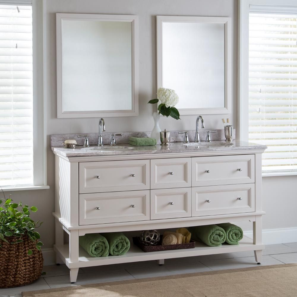 home decorators collection teasian 61 in w x 22 in d on home depot vanity id=94140