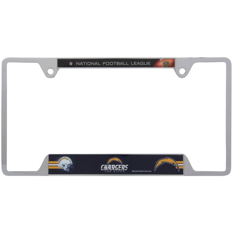 San Diego Chargers WinCraft License Plate Frame | Matrículas ...