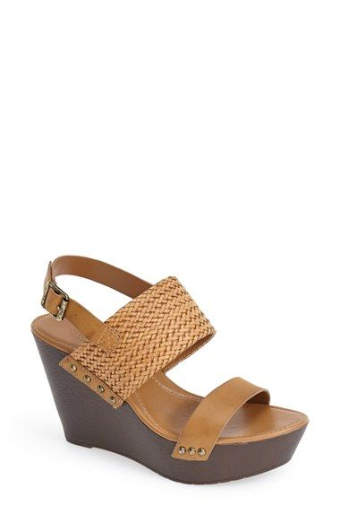 36c223e7267 Charles by Charles David  Isola  Leather Wedge Sandal (Women) available at   Nordstrom