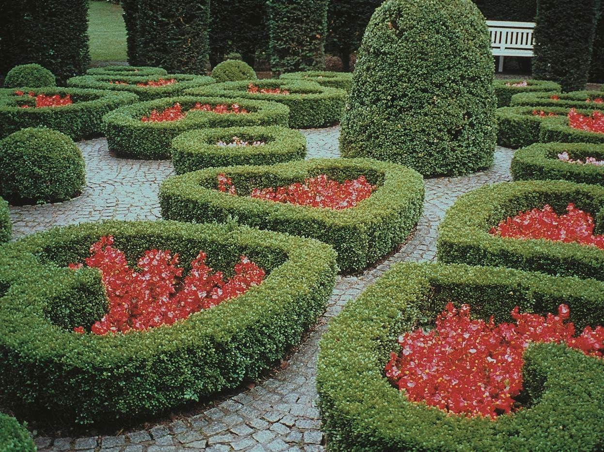 Heart gardens an art deco treasure » the garden of the heart