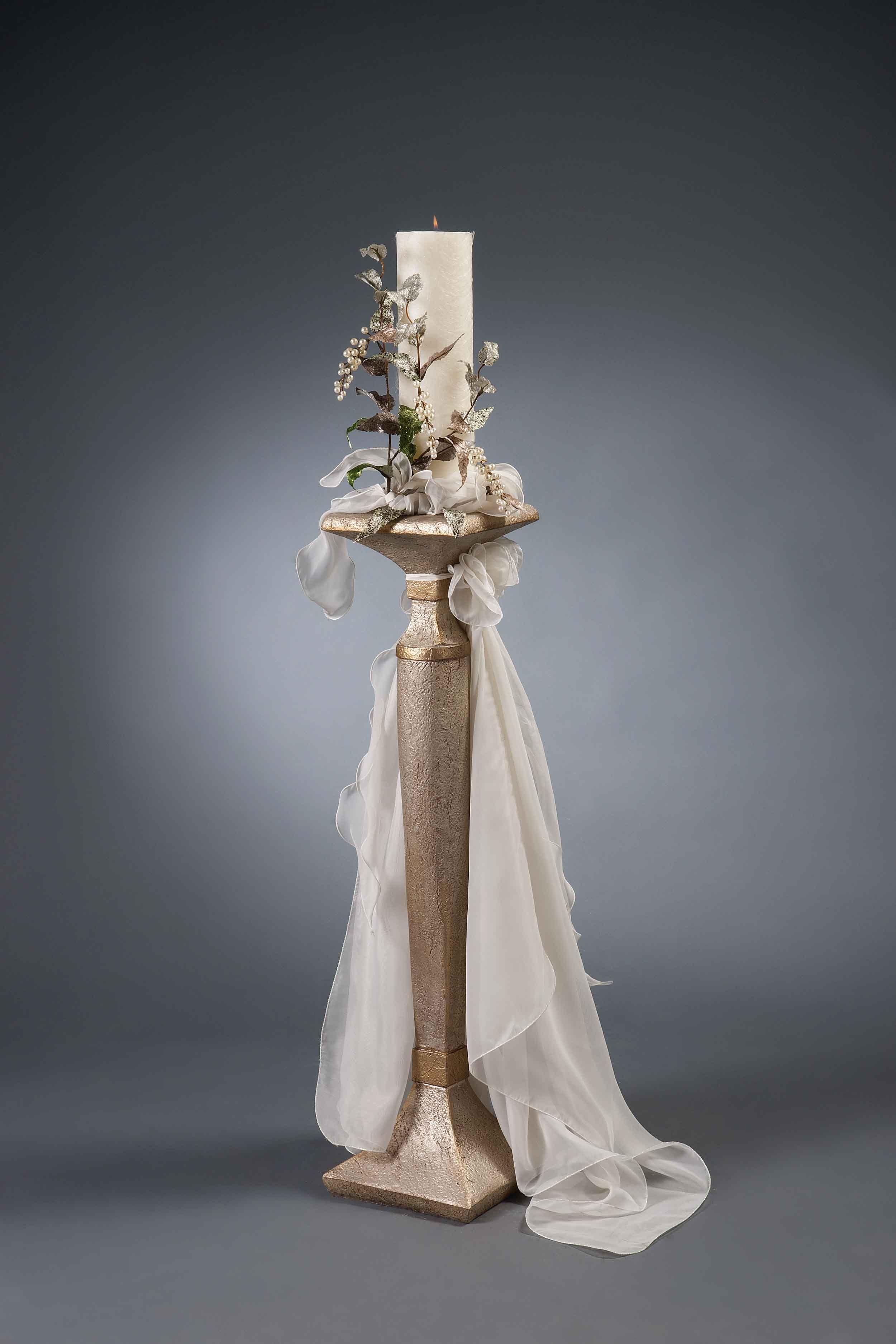Λαμπάδες γάμου MELITA B - Είδη γάμου & βάπτισης, μπομπονιέρες γάμου   tornaris-rina.gr