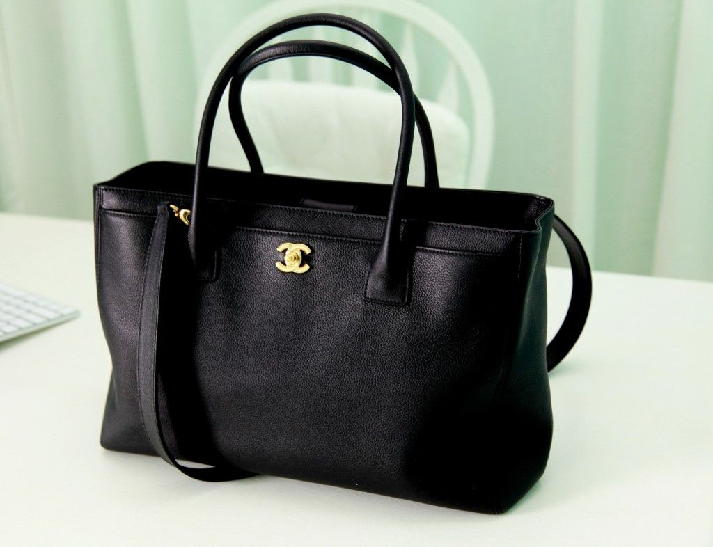 d0bafa0399f3 Chanel Executive Cerf Tote Bag.
