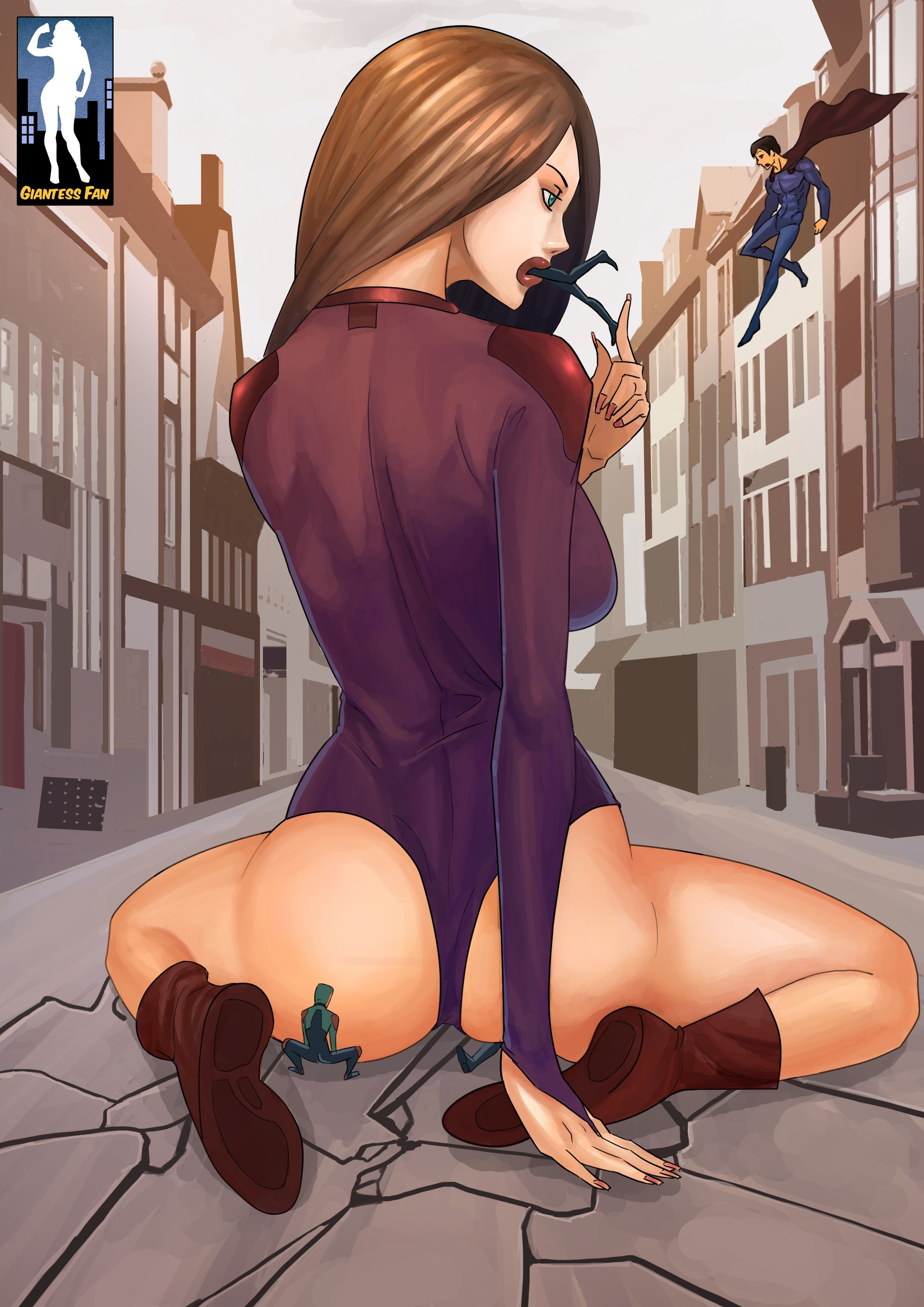 Game Time Vore By Giantess-Fan-Comics On Deviantart -1462