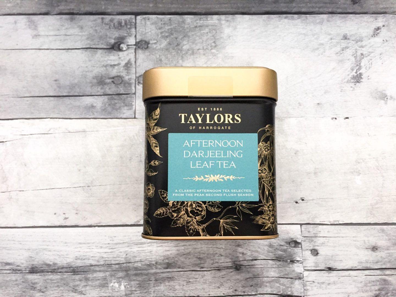 Friday favorites taylors of harrogate afternoon darjeeling tea