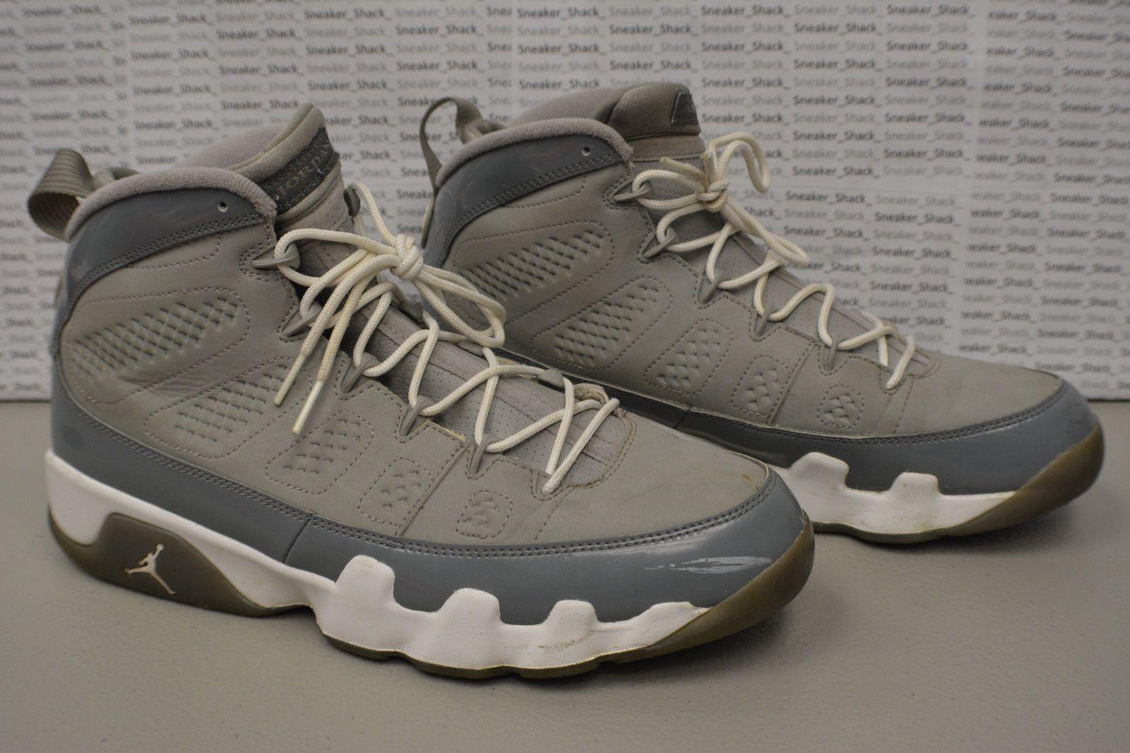 Nike Air Jordan IX 9 Retro COOL GREY WHITE SILVER CHARCOAL 302370-015 Sz 10