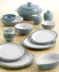 Denby Azure Dinnerware. & Denby Azure Dinnerware... | For the Home | Pinterest | Servis