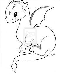 Draw Cute Dragon Google Search Drawings Pinterest Baby
