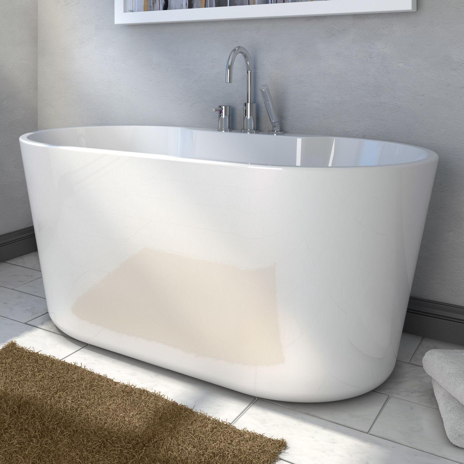56 X 31 Freestanding Soaking Bathtub Soaking Bathtubs Free Standing Tub Bathtub